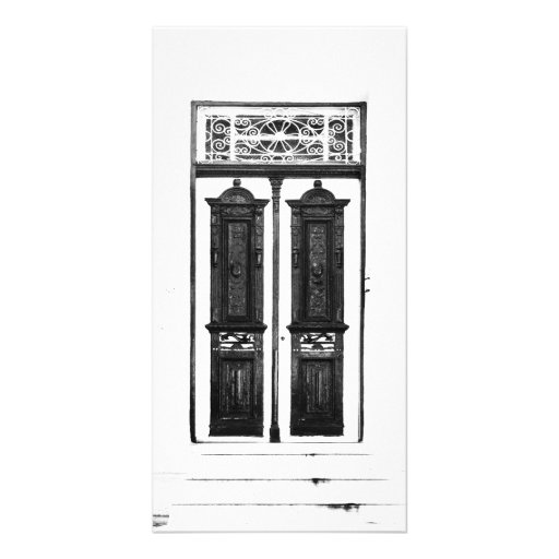 door collection picture card