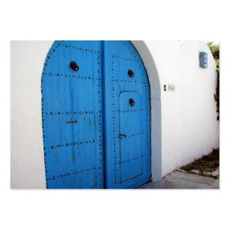 Door Company Plantilla De Tarjeta De Negocio