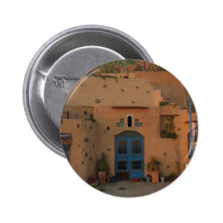Door Cool Clay House Photo Round Badge Pinback Button