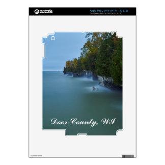 Door County Cave Point Cliffs iPad 3 Skins