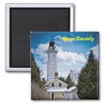 wisconsin, door, door county, door county magnet,