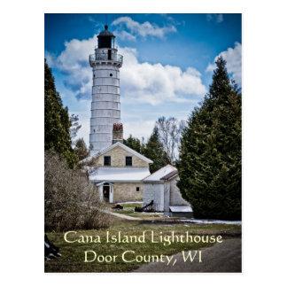 Door County Lighthouse Postcard