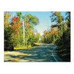 trees, fall, road, poetry, door, county, travel