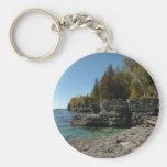 Door County, Wisconsin Basic Round Button Keychain