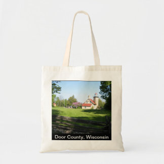 Door County Wisconsin Tote Bag