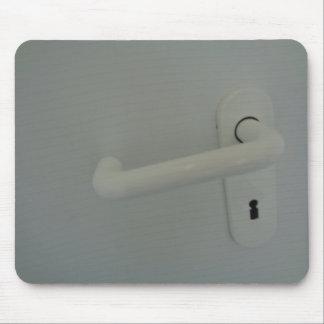 door handle mouse pad