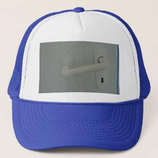 door handle trucker hat