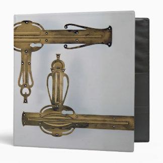 Door handles, 1898-99 binder