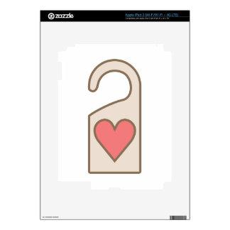 Door Hanger Decals For iPad 3