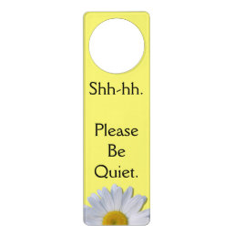 Door Hanger - New Daisy on Yellow