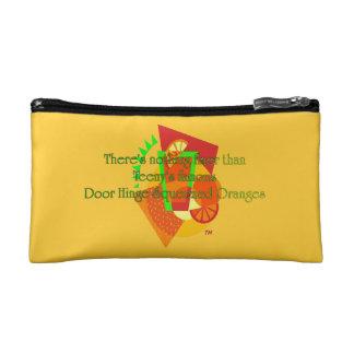 Door Hinge Squeezed Oranges Makeup Bag