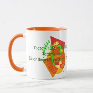 Door Hinge Squeezed Oranges Mug