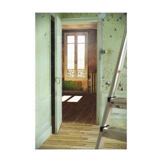 DOOR Homage to Duchamp - Digital Realism Canvas 1 Canvas Print