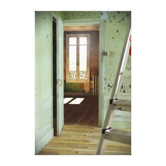 DOOR Homage to Duchamp - Digital Realism Canvas 2 Canvas Print