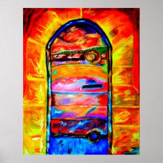 DOOR IN ISRAEL ART CANVAS & POSTERS D DAVIDSOHN