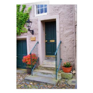 Door in St Andrews Greeting Cards