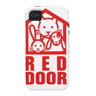 door.jpg rojo iPhone 4/4S carcasa