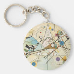 Door Kandinsky keys Keychains