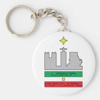 Door-keys Monuments of Lisbon-Portugal Keychain