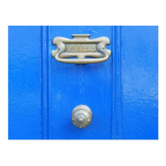 Door knob - Birr, Ireland Postcard