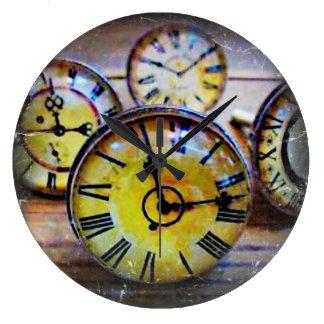 Door knob time/clocks large clock