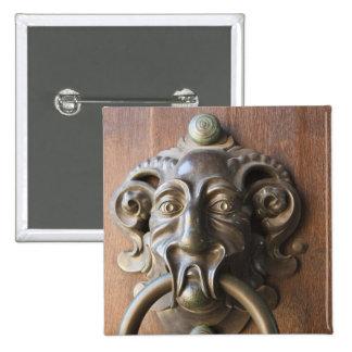 Door knocker at the Neue Residenz Button
