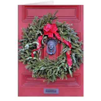 Door knocker card