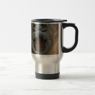 Door Knocker Travel Mug
