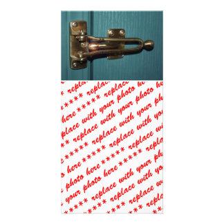 Door Latch Security Photo Card