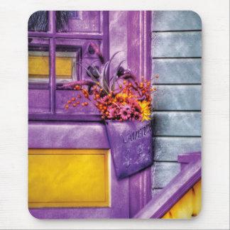 Door - Lavender Mouse Pad