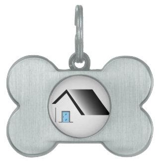 door manufacturing pet tag