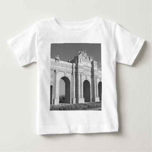 Door of Alcala in Madrid Baby T-Shirt