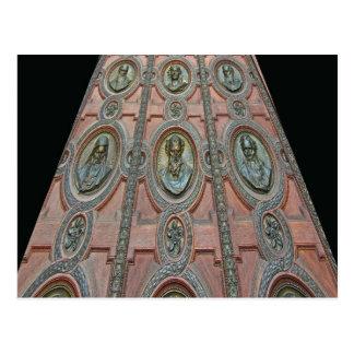 Door of St Stephen's Basilica, Budapest Postcard