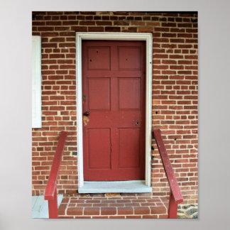 "Door of the ""Jennie Wade House"" Poster"