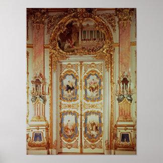 Door of the Porcelain Room Poster