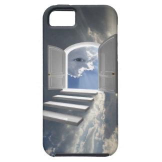 Door opened on a mystic eye iPhone SE/5/5s case