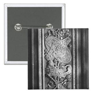 Door panel, Henri II style, c.1556 Pinback Button