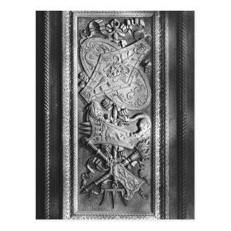 Door panel, Henri II style, c.1556 Postcard