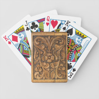 door patern bicycle playing cards