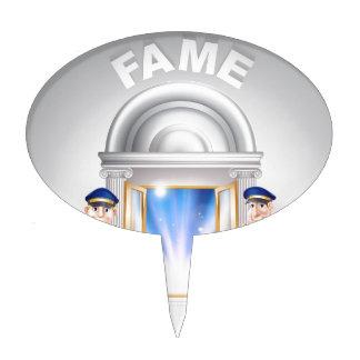 Door to Fame and Doormen Cake Picks