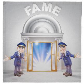 Door to Fame and Doormen Napkins