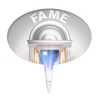 Door to Fame Cake Toppers