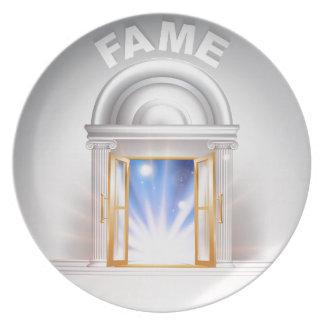 Door to Fame Plate