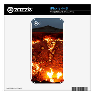 DOOR TO HELL iPhone 4S DECALS