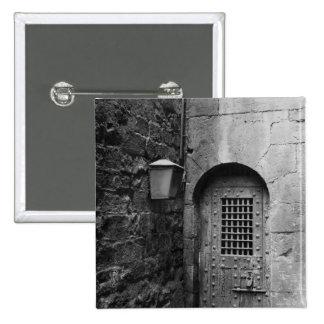 Door to Newgate Prison 2 Inch Square Button