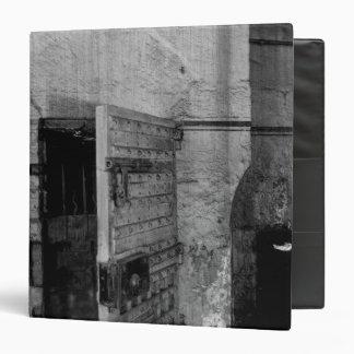 Door to Newgate Prison 3 Ring Binder