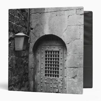 Door to Newgate Prison Binder