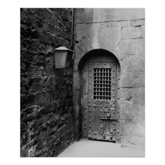 Door to Newgate Prison Poster