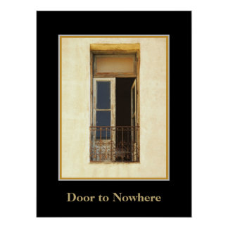 Door to Nowhere in Buenos Aires Poster