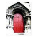 Door to Sacre Coeur Post Cards